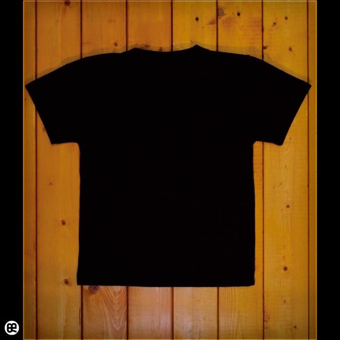 キッズTシャツ:カエルちゃん : ブラック:5.6オンス