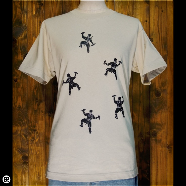 NINJA : ストーン:Tシャツ