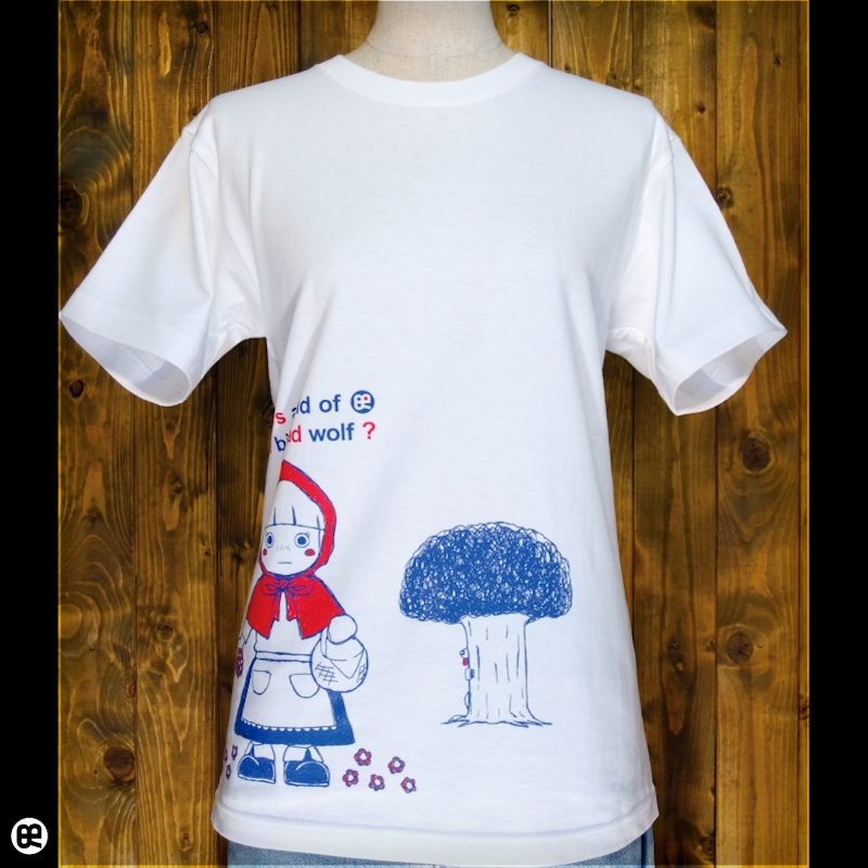 Akazukin : ホワイト:Tシャツ