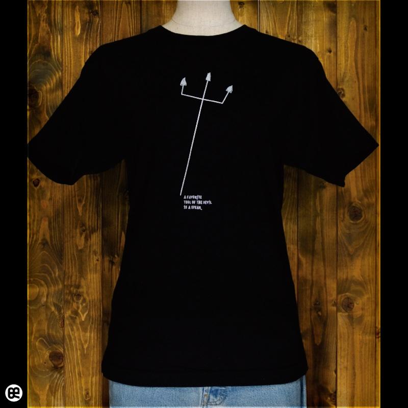 あくま : ディープブラック:Tシャツ