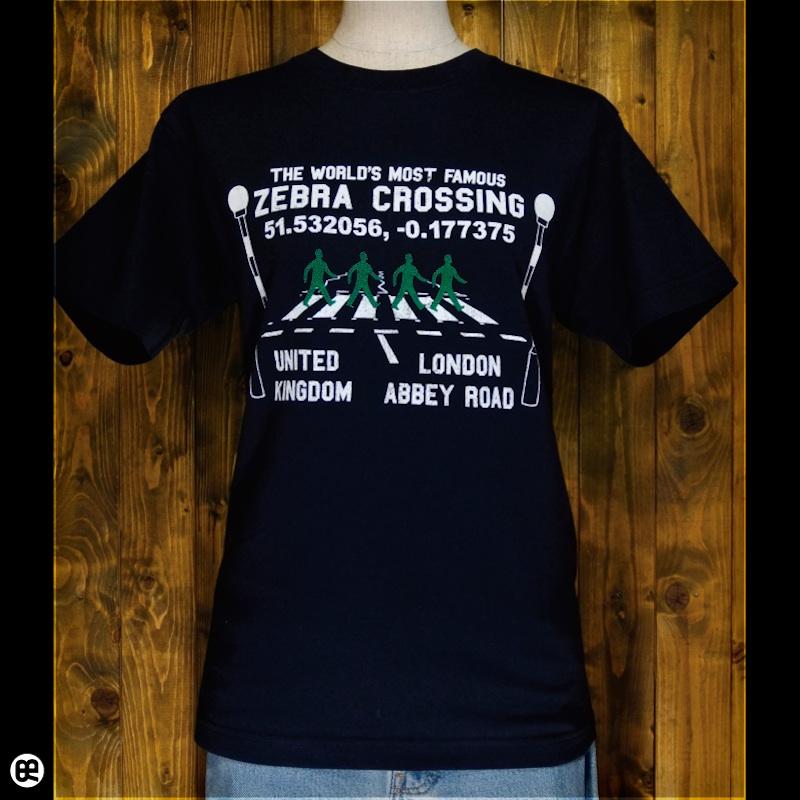 アビイロード : ネイビー:Tシャツ