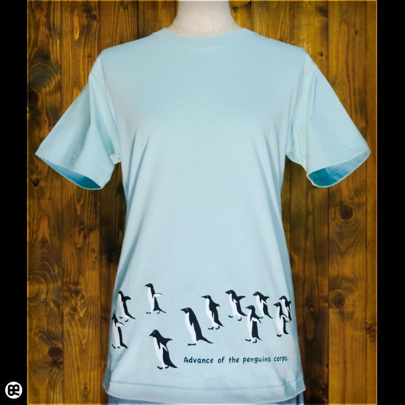 進撃のペンギン : フロストスカイ:Tシャツ