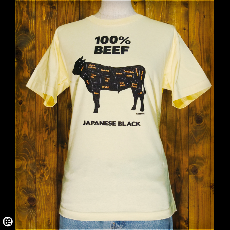 ビーフ : イエローヘーゼ:Tシャツ