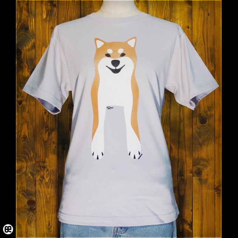 Shiba Inu : シルバーグレー:Tシャツ