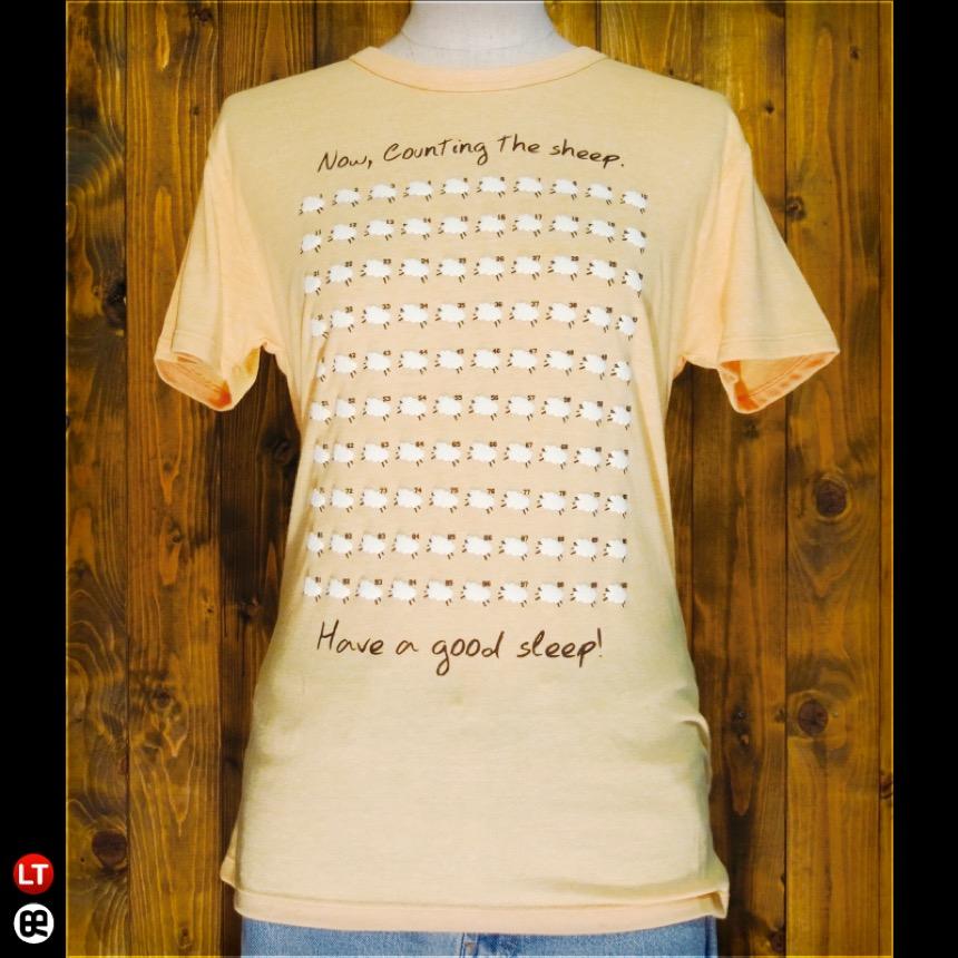 SleepSheep : ヘザーイエロー:ライトTシャツ(薄地)