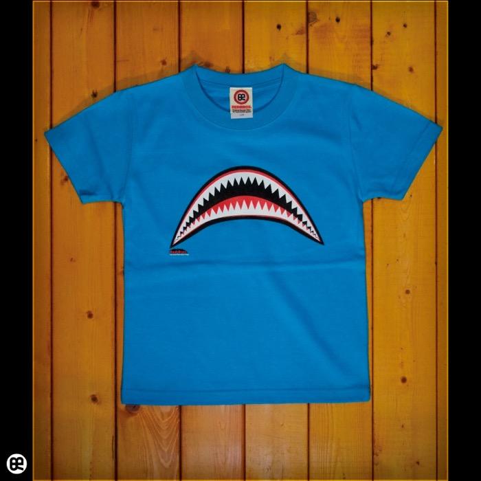 キッズTシャツ:Sharks : ターコイズブルー:5.6オンス