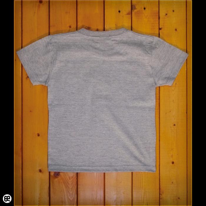 キッズTシャツ:Peano : ミックスグレー:5.6オンス