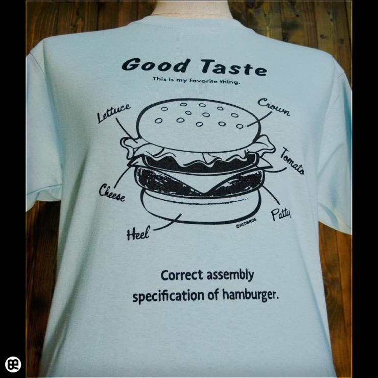 ハンバーガー : フロストスカイ:Tシャツ