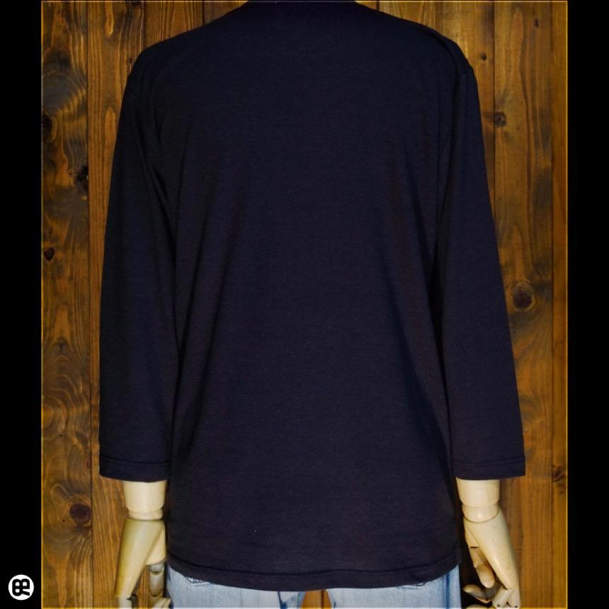 7分袖Tシャツ:カモノハシと一緒:スミクロ