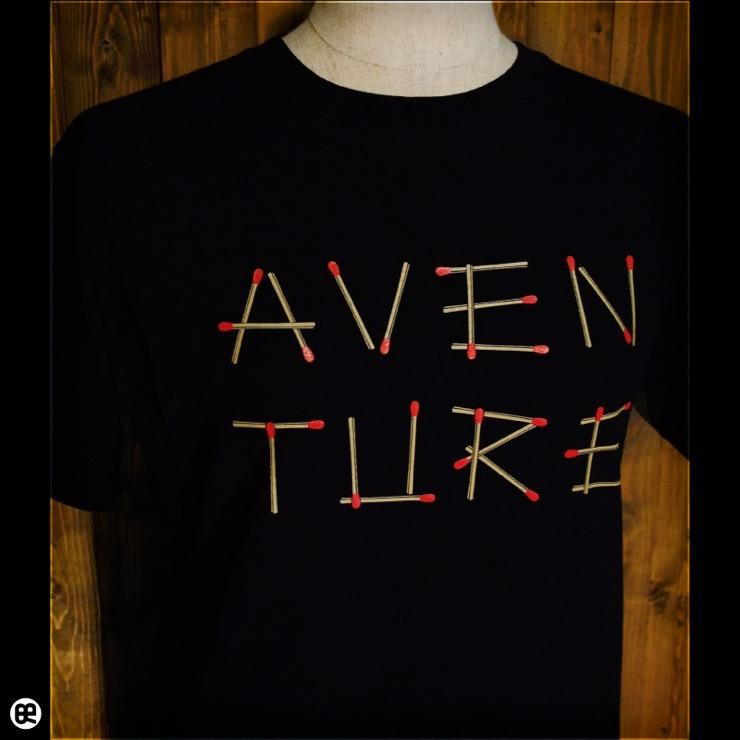 Aventure : ディープブラック:Tシャツ