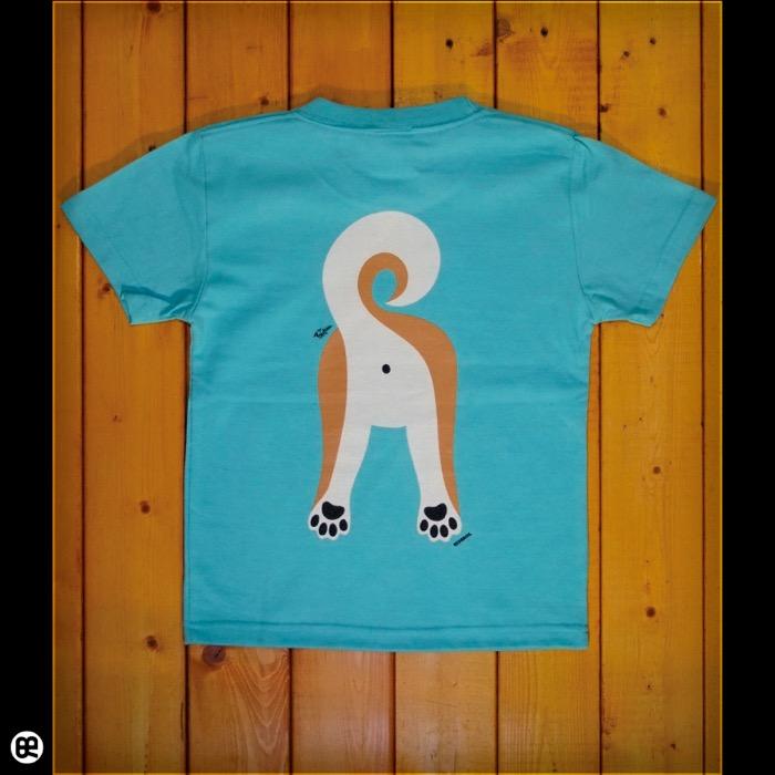 キッズTシャツ:Shiba Inu : ミントグリーン:5.6オンス