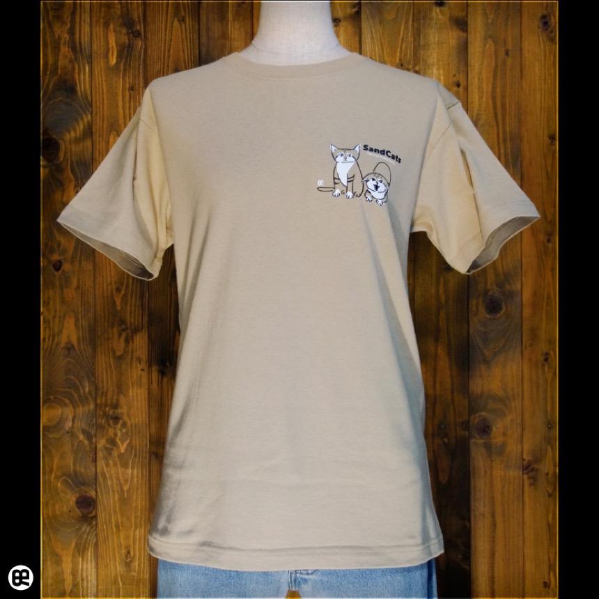 スナネコ:サンド:Tシャツ