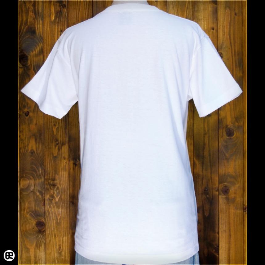 なにか?:ホワイト:Tシャツ