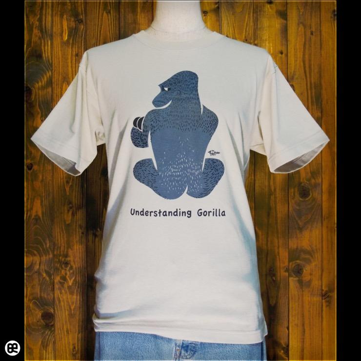 かしこいゴリラ : ストーン:Tシャツ