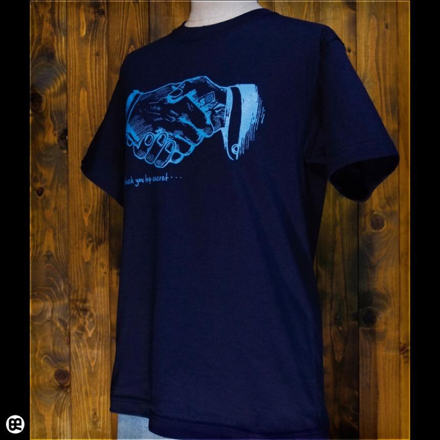 売名行為:ネイビー:Tシャツ