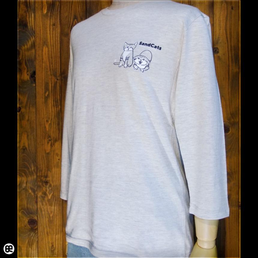 7分袖Tシャツ : スナネコ : オートミール