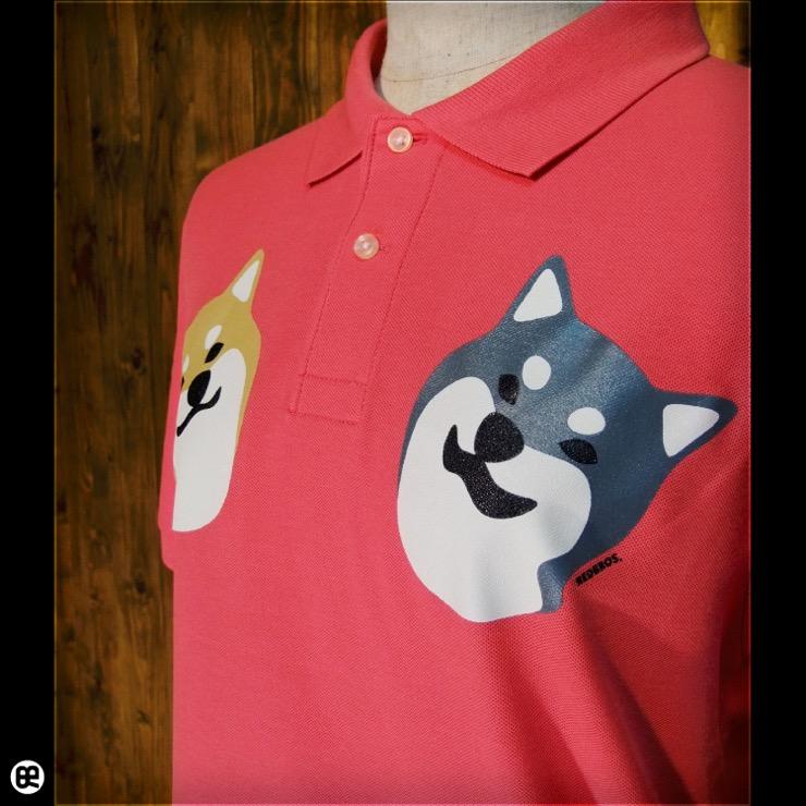 ポロシャツ:こましば(FP) : フラミンゴピンク