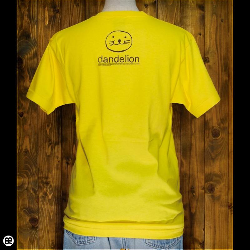 ダンデライオン : イエロー:Tシャツ