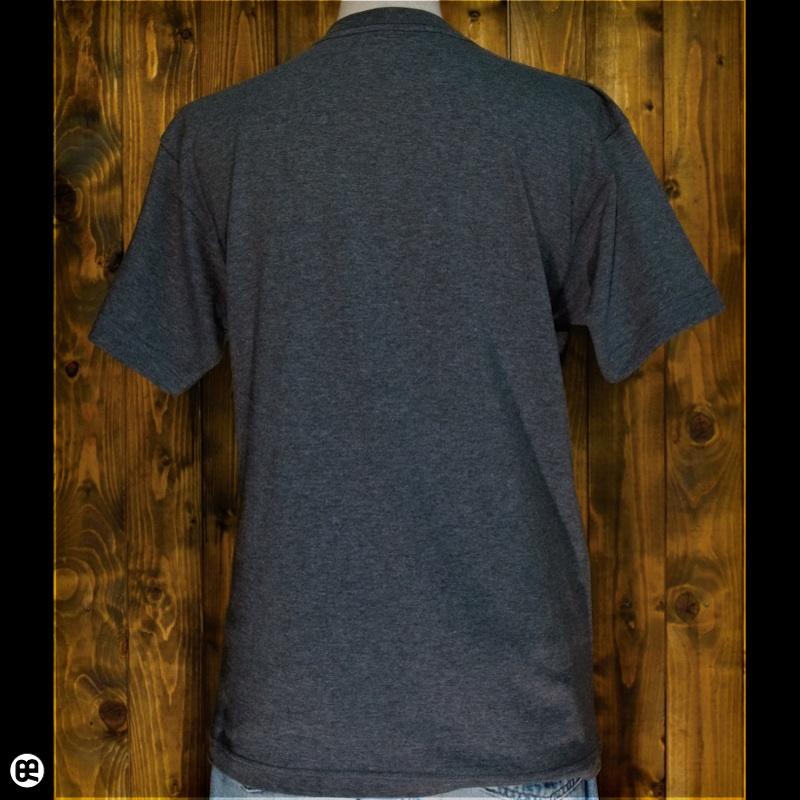 ハリネズミ : チャコール:Tシャツ