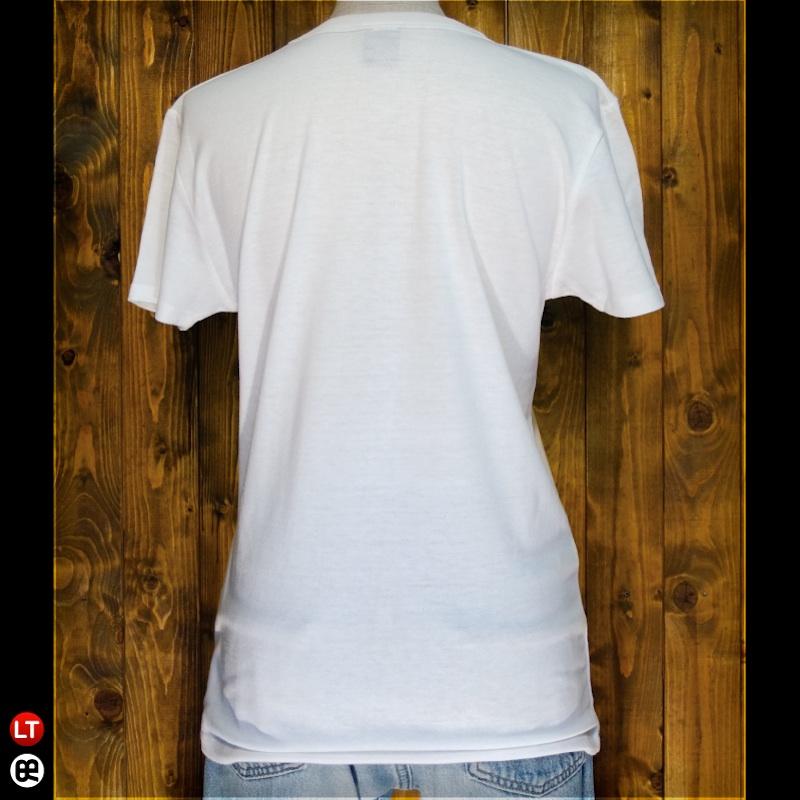ボタンdeスカル : オフホワイト:ライトTシャツ(薄地)