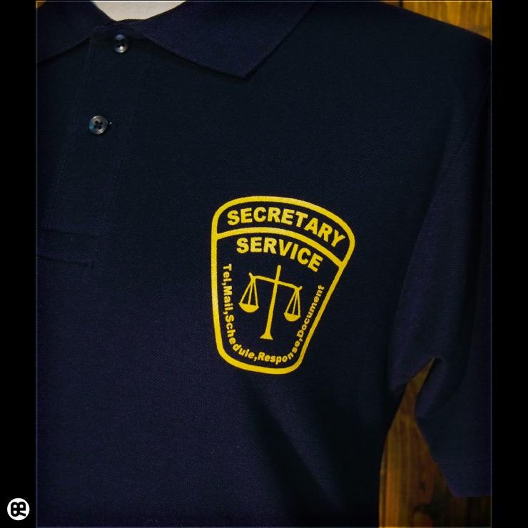 ポロシャツ:秘書 : ネイビー