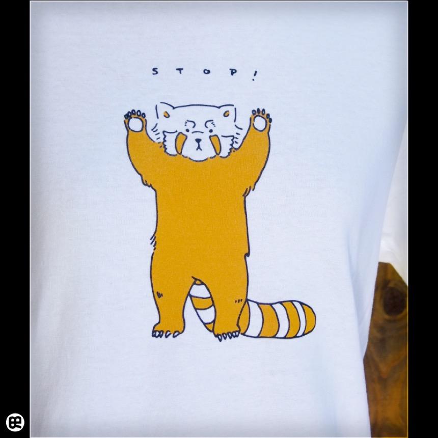 レッサーパンダ:ナチュラル:Tシャツ