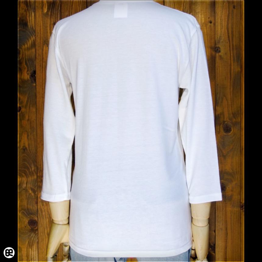 7分袖Tシャツ : フラワークレフ : オフホワイト