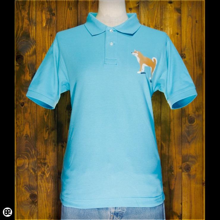 ポロシャツ:Shiba Side : ミントグリーン