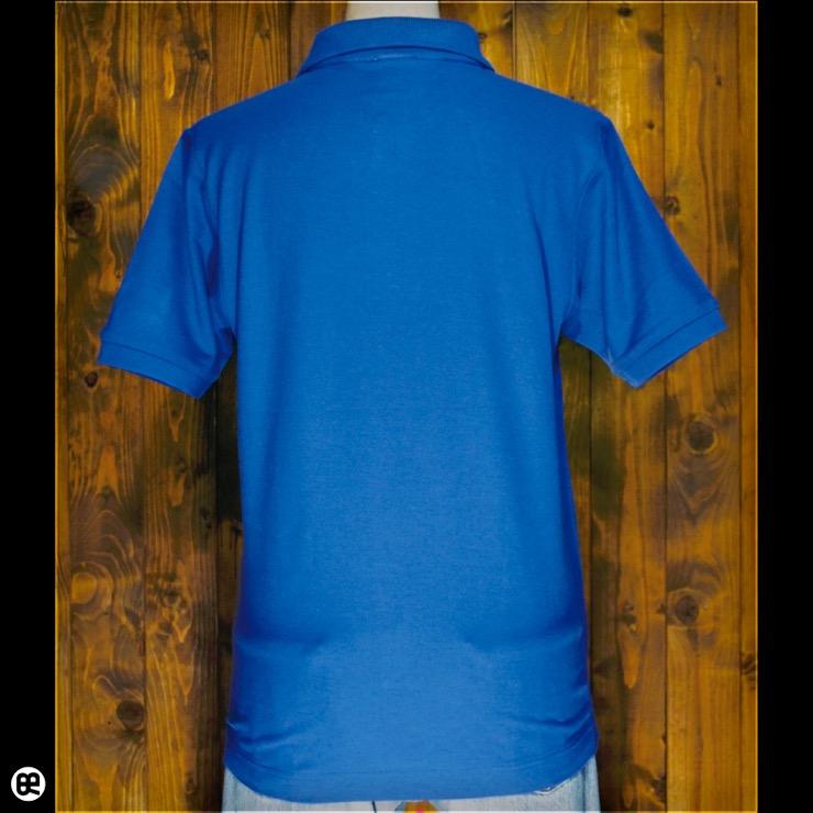 ポロシャツ:table tennis : ロイヤルブルー