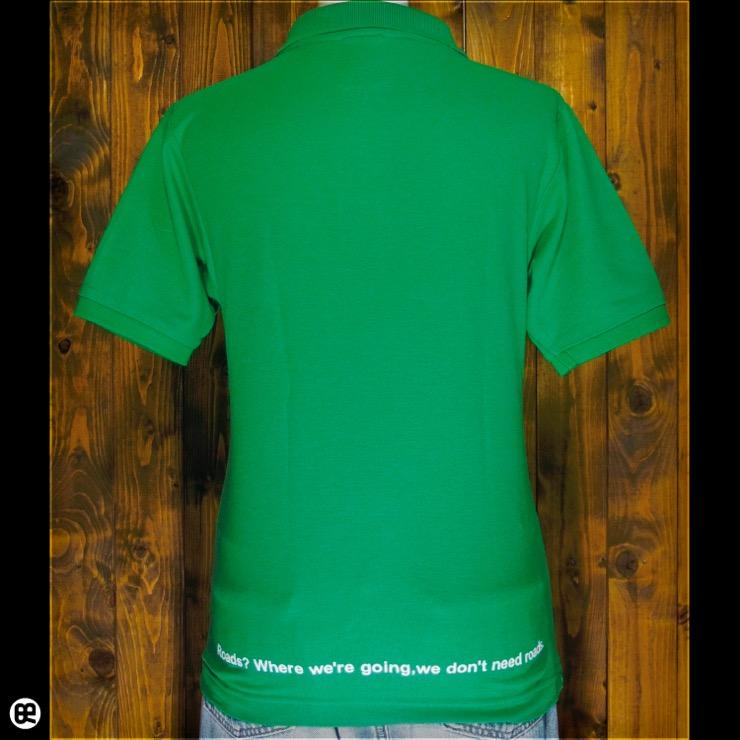 ポロシャツ:MyWay : ブライトグリーン