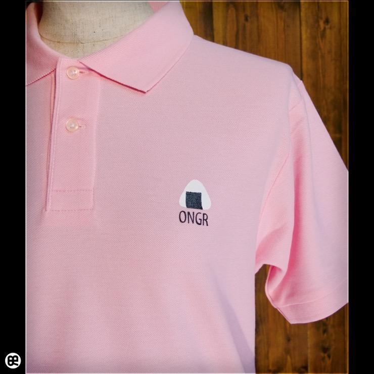 ポロシャツ:ONGR : ピンク