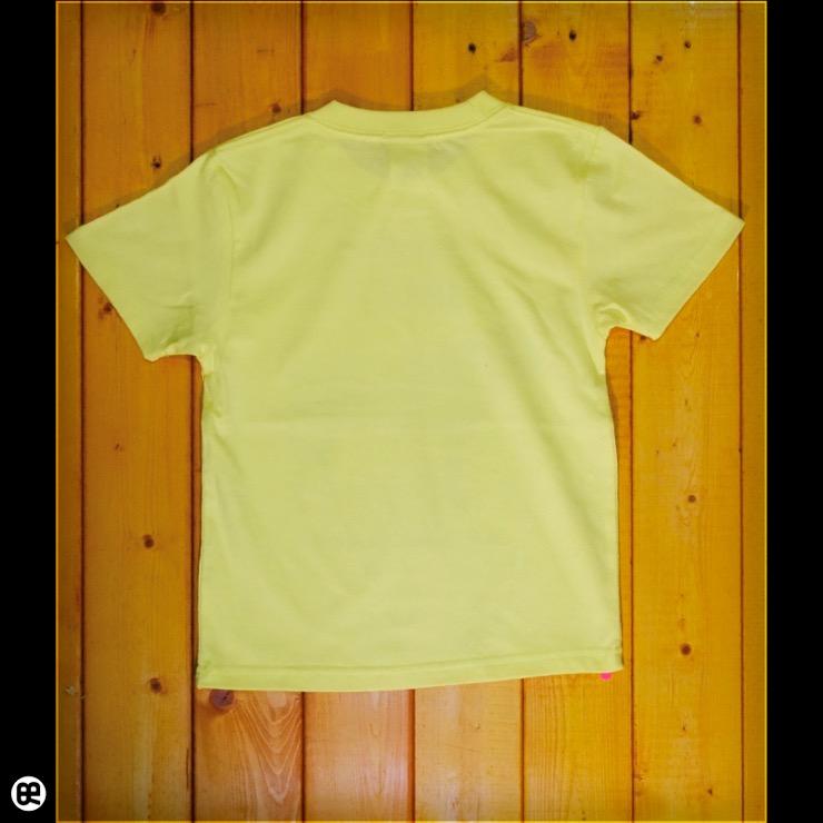 キッズTシャツ:ビーフ : ライトイエロー:5.6オンス