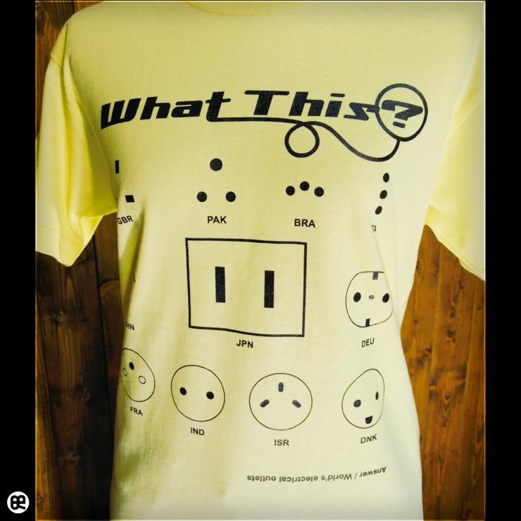 What this? : レモンイエロー:Tシャツ