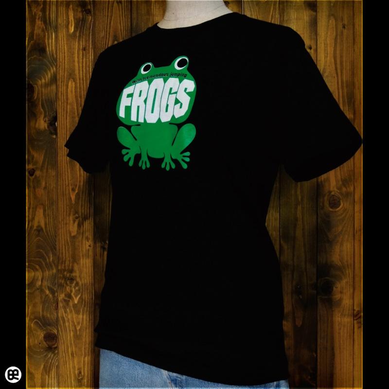 カエルちゃん : ディープブラック:Tシャツ