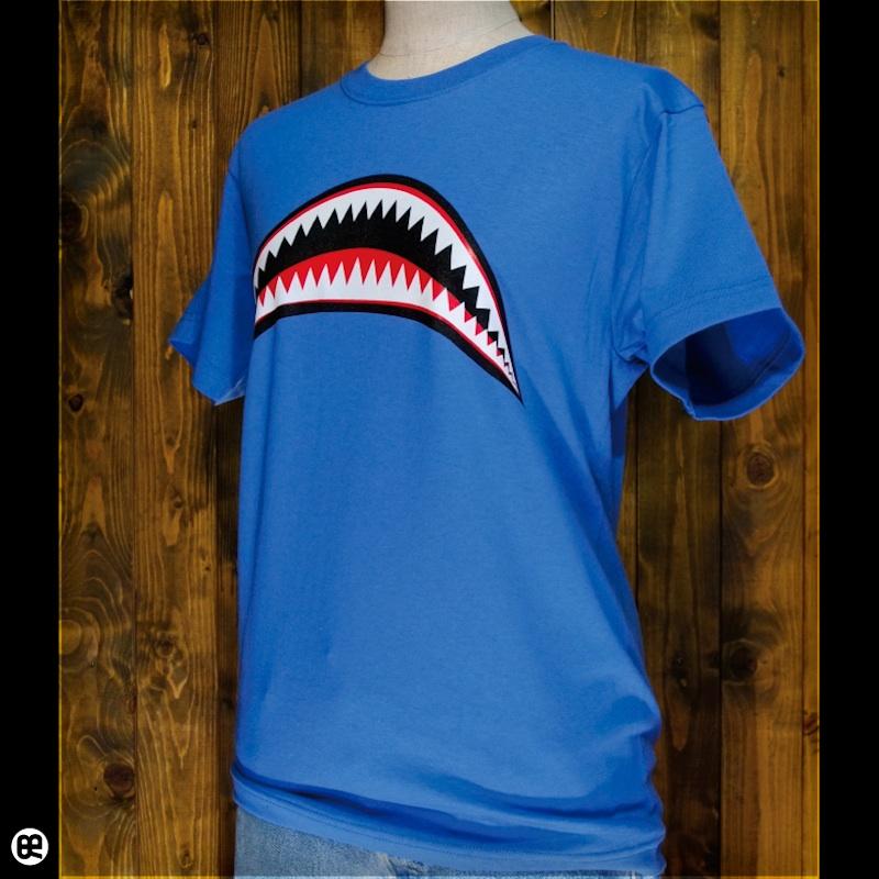 Sharks : ブルー:Tシャツ