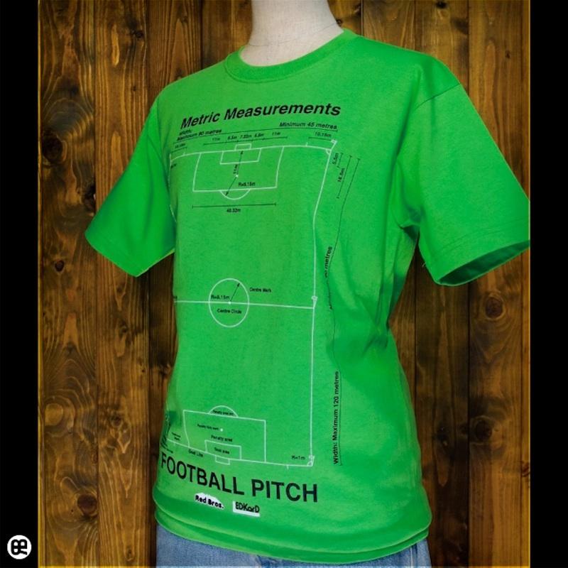 PITCH : グリーン:Tシャツ