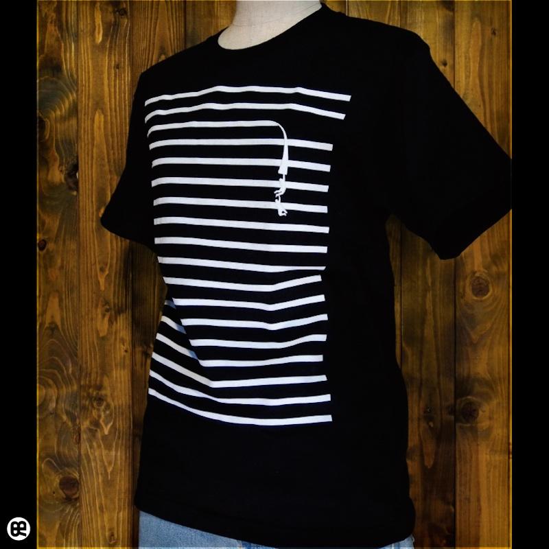 tape : ディープブラック:Tシャツ