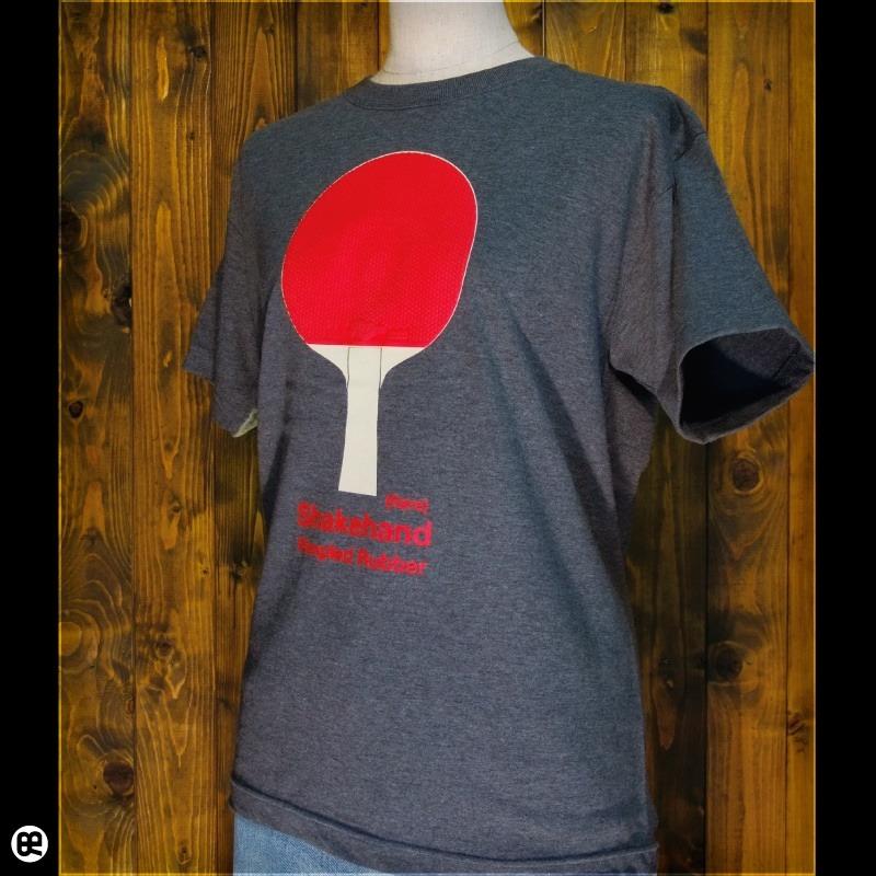 PingPong : チャコール:Tシャツ