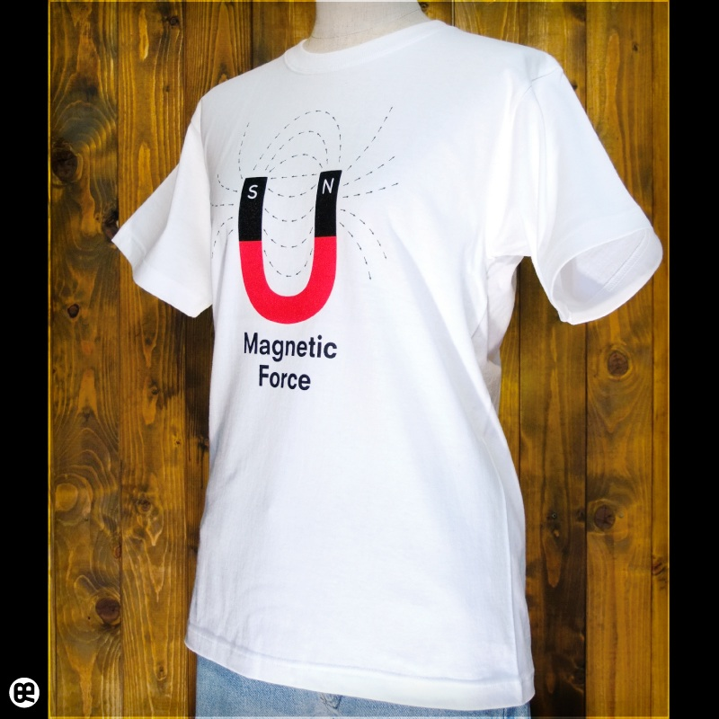 U字磁石 : ホワイト:Tシャツ