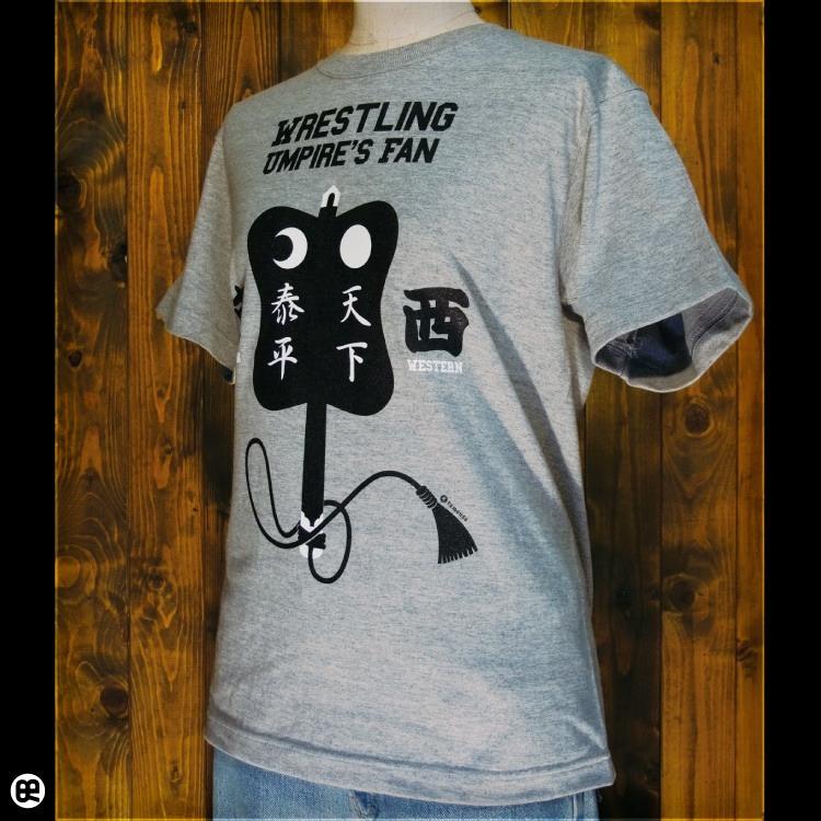 軍配 : ヘザーブラック:Tシャツ