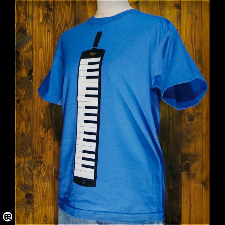 ケンハモ : ブルー:Tシャツ