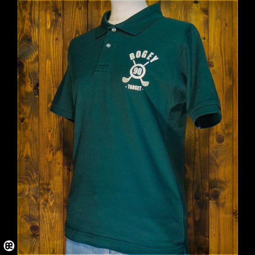 ポロシャツ:BOGEY : ブリティッシュグリーン