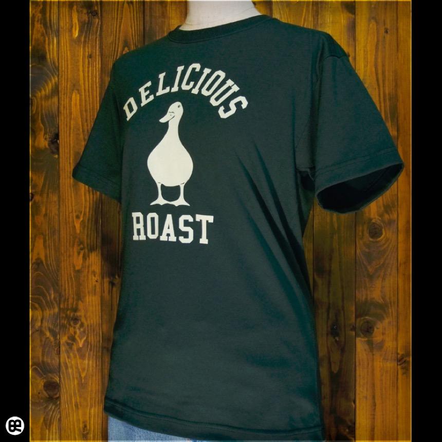 アヒルロゴ : フォレストグリーン:Tシャツ