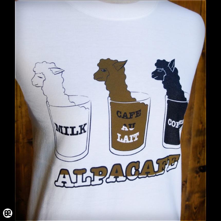 ロンT : アルパカフェ : ホワイト