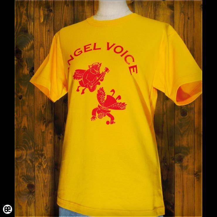 ANGEL VOICE : ゴールド:Tシャツ