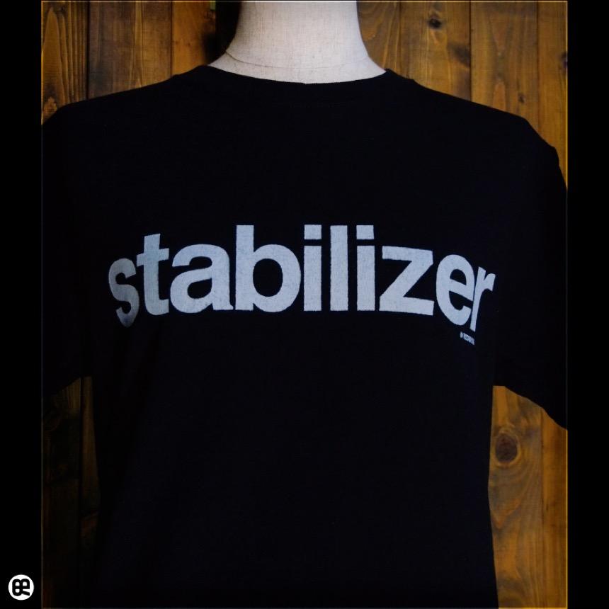 stabilizer:ディープブラック:Tシャツ