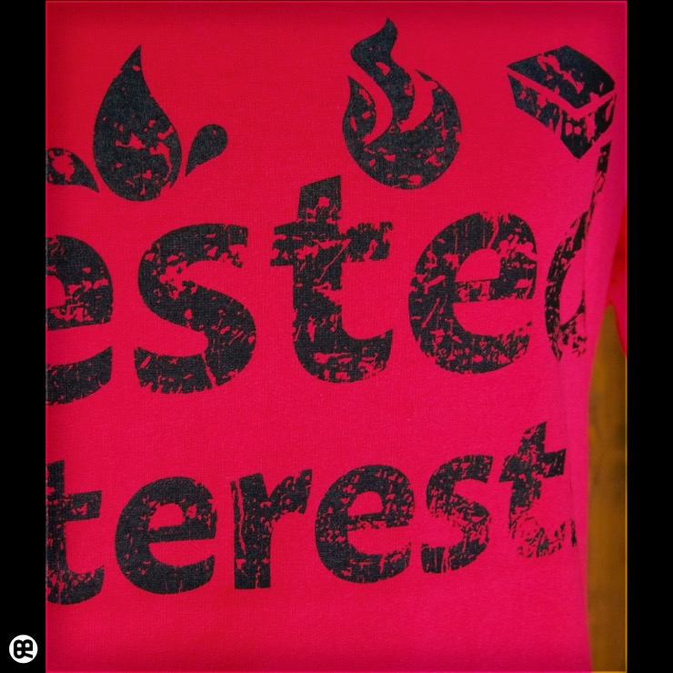 Vested Interests : ショッキングピンク:Tシャツ