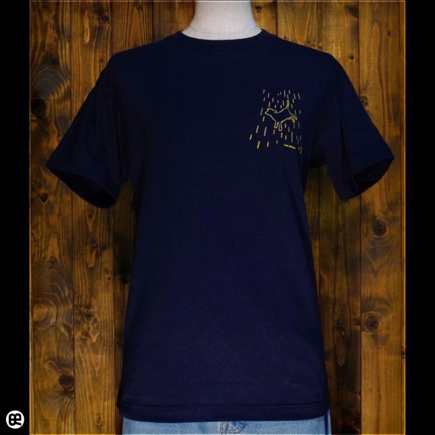 Cow Abduction:ネイビー:Tシャツ