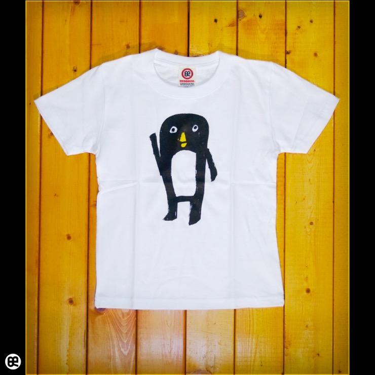 キッズTシャツ:ぺんた : ホワイト:5.6オンス