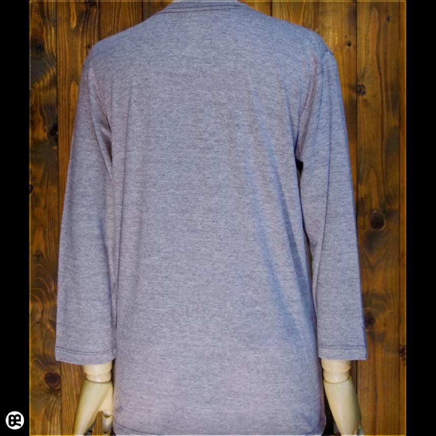 7分袖Tシャツ : フェネック : ヘザーブラウン